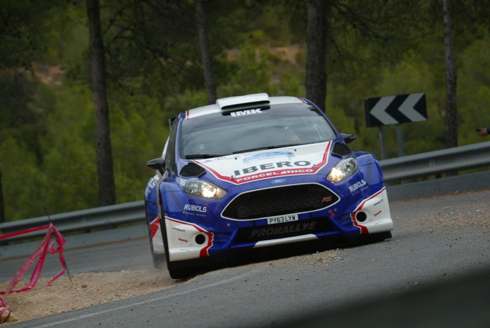 Santiago Carnicer en el XVIII Rally Ciudad de Valencia, IBERO Rallye Team
