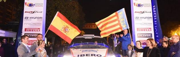 Santiago Carnicer, IBERO rallye Team
