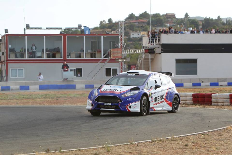 santiago carnicer, ford fiesta r5, ibero rallye team