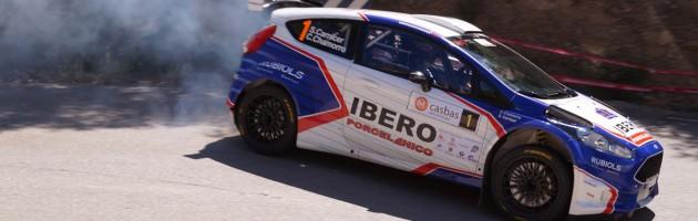 Santiago Carnicer-gana el rallysprint llucena 2018