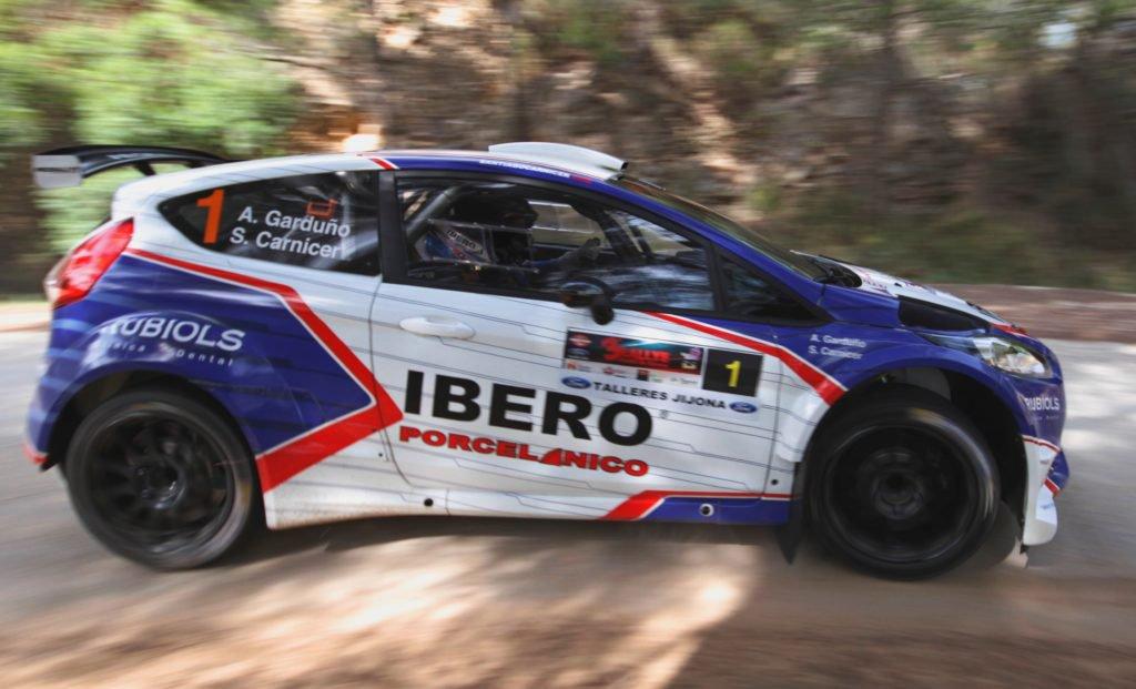 Victoria de Santiago Carnicer VI Rally Bodegas Xaló