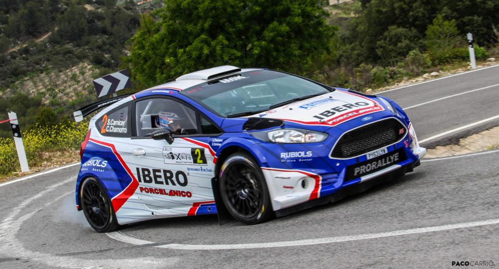 Santiago Carnicer gana el VI Rally Bodegas Xaló